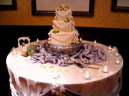 modern how to decorate a wedding cake with wedding cake table