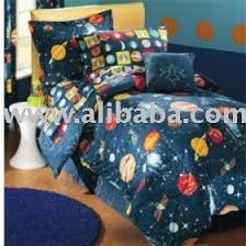 Space Themed Bedding Glow In The Dark Planets Outer Space Comforter Full Size Boy U0027s