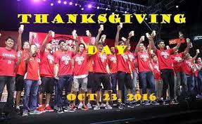 throwback barangay ginebra san miguel thanksgiving day