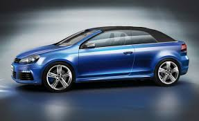 volkswagen blue volkswagen golf r cabriolet concept drops at wörthersee festival