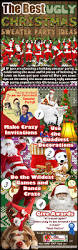 Christmas Sweater Party Ideas - the best ugly christmas sweater party ideas visual ly