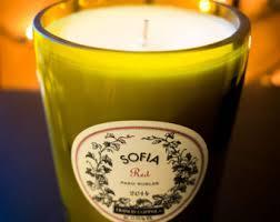 sofia the candle sofia and etsy
