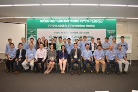 toyota worldwide toyota vietnam with environmental protection activities