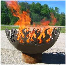 Sphere Fire Pit by Tracing Patterns Onto 3d Surfaces