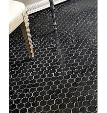 Black Bathroom Floor Tiles Black Hex Tile Bathroom Floor Google Search Splishsplash Bath