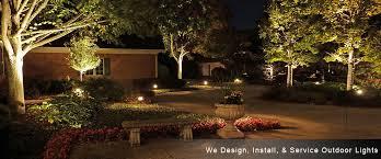 Outdoor Landscaping Lights Premier Lighting Inc Chicago Area Landscape Lighting Outdoor