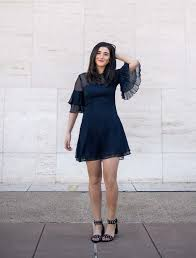 straight hair with outfits lulus ruffle sleeve dress the best and worst fads of 2017