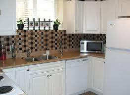Oven Backsplash Diy Kitchen Backsplash On A Budget Stainless Steel Moen Faucet