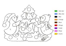 Dessin A Colorier Noel  Maison Design  Apsipcom