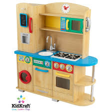 Pretend Kitchen Furniture Natural Toy Kitchen