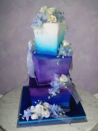 blue and purple wedding purple and blue wedding cake cakedreamingwithdiane