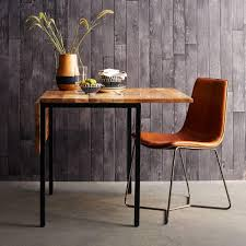 Leather Slope Dining Chair West Elm AU - West elm dining room chairs