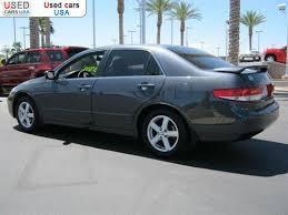 2003 honda accord horsepower for sale 2003 passenger car honda accord sedan ex chandler