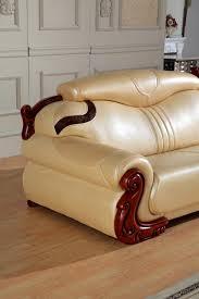 Corner Sofa Wood Aliexpress Com Buy European Leather Sofa Set Living Room Sofa