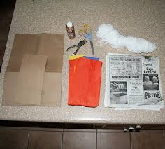 instructions on how to make a paper bag pinata