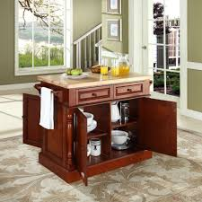 kitchen room design crosley butcher block kitchen island by oj