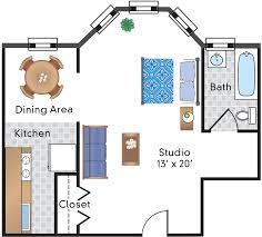 Efficiency Floor Plans by Floor Plans Of Sedgwick Gardens In Washington Dc