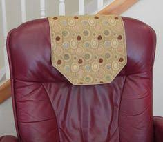 Chair Headrest Cover Recliner Chair Headrest Cover Rusty Red Upholstery By Chairflair