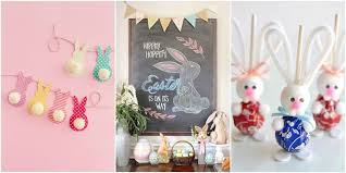 easter decorations for the home 22 diy easter decorations to make easter decorating ideas