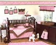Pink Brown Crib Bedding Paisley Baby Bedding Crib Nursery Sets Save 50 Baby Bedding