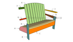 Adirondack Bench Adirondack Bench Plans Howtospecialist How To Build Step By