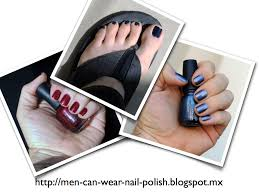 men can wear nail polish what is the identity of a man who wears