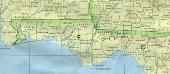 Florida Shipwrecks Map Map Of Florida Panhandle Beaches Map Of Florida Panhandle Map