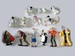 disney 101 dalmatians figurines set 3 nestle figures
