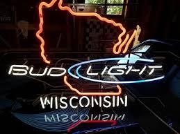 bud light neon signs for sale bud light wisconsin neon sign real neon light for sale hanto neon sign
