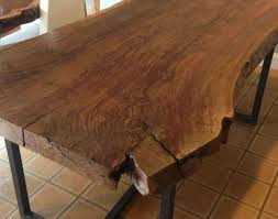 Handmade Kitchen Table Dining Awesome Live Edge Kitchen Table Also Handmade Claro
