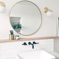 extraordinary inspiration circular bathroom mirror modern decoration