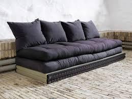 canap futon canapé modulable et convertible avec futons et tatamis chico sofa