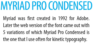 kinetic typography in powerpoint u2013 guide to font selection
