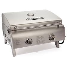 top gas grills cuisinart cgg 306 stainless steel professional table top gas grill