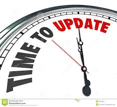 time to update words clock renovate improvement royalty free stock