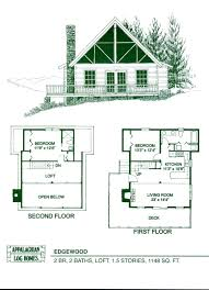 small house floor plans with loft modern tiny house floor plans with loft 2 bedroom cabin 500 sq ft
