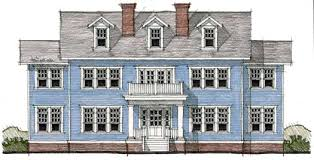 Simple Colonial House Plans Colonial Style House Plans Plan 39 139