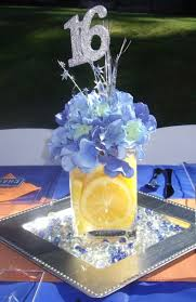 Centerpieces For Sweet 16 Parties by Sweet 16 Party Ideas For Boys Driver U0027s License Theme
