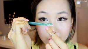 How To Pencil In Eyebrows Meejmuse Pictorial Korean Brows In 4 Steps Grooming Shaping