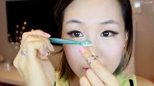 meejmuse pictorial korean brows in 4 steps grooming shaping