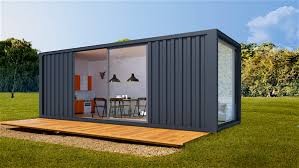 modern container conversions modcc shipping container granny