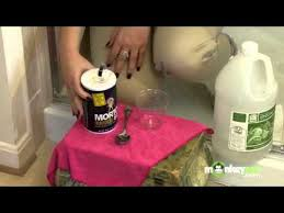 bathroom cleaning soap scum youtube