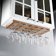 Kitchen Cabinet Wine Rack Kitchen Cabinets Best Under Cabinet Wine Glass Rack Design Wine