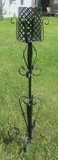 home interiors black wrought iron candle holder 23
