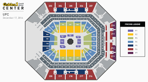 Oracle Arena Map Ufc Fight Night Golden1center