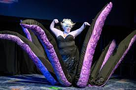 Ursula Costume Ursula The Sea Witch Little Mermaid Halloween Town Little