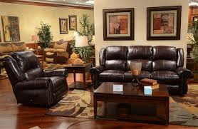 power leather recliner sofa livingston power leather reclining sofa with drop down table by