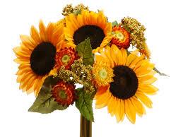 Sunflower Bouquets Sunflower Wedding Bouquets Sunflower Bridal Flowers Ideas