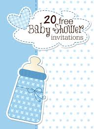 Babyshower Invitation Card Printable Baby Shower Invitations