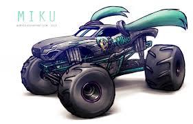 monster truck show 2014 monster jam miku by adry53 on deviantart